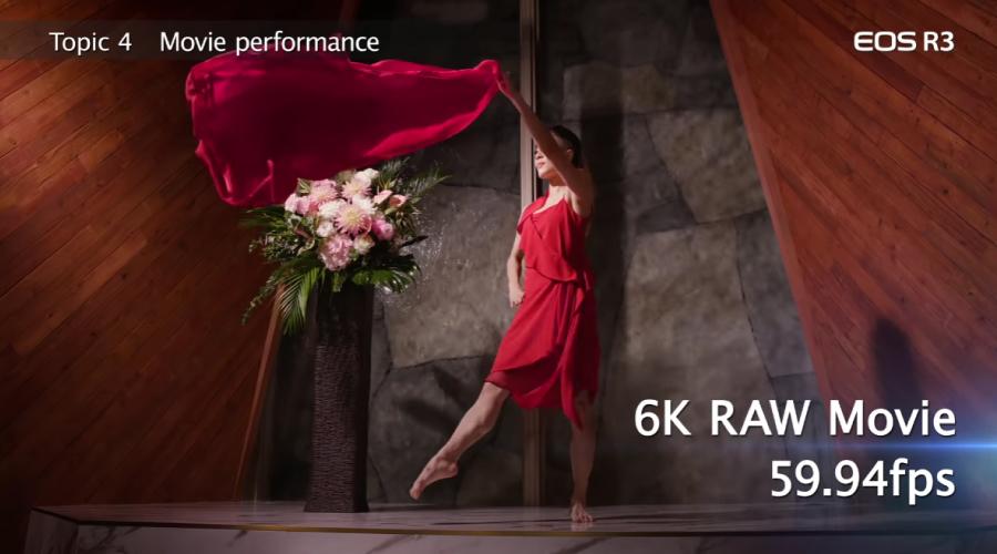 Canon EOS R3 Video